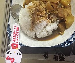 咖喱猪肉饭的做法