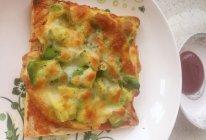 牛油果煎蛋吐司披萨的做法