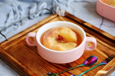 冰糖蒸水蜜桃