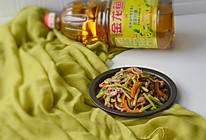 芹菜炒牛肉#金龙鱼营养强化维生素A 新派菜油#的做法