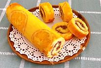香橙反转蛋糕卷的做法