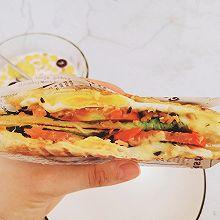 简单快手好吃又营养的三明治(三明治机版本)