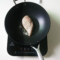 如何打造嫩滑多汁的皇家料理【香煎鸡胸肉】(减脂增肌)的做法图解7