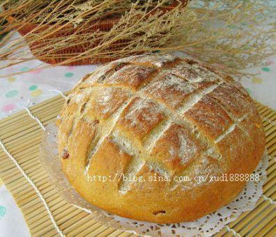 健康淳朴的乡村杂粮面包的做法