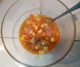 番茄土豆牛肉汤的做法