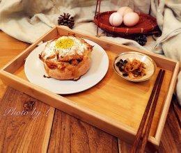辛辣泡菜太阳蛋-私订口味第四弹的做法