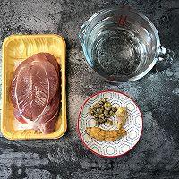 西洋参石斛炖瘦肉-(清热滋润养颜)的做法图解1