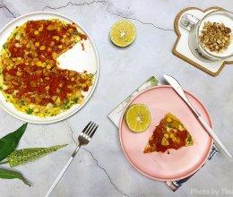 西红柿鸡蛋pizza的做法