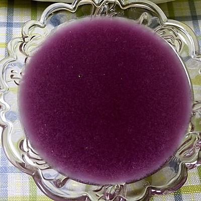 紫薯米糊~豆浆机做很简单