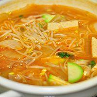 韩式泡菜风味汤面的做法图解7