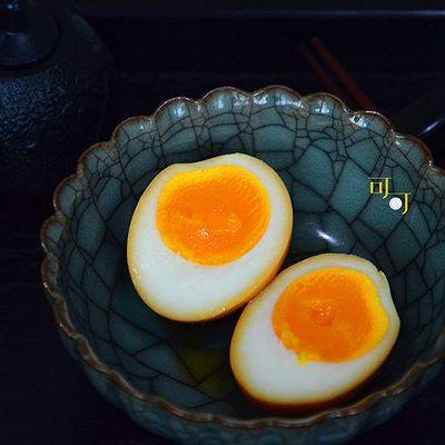 日式溏心蛋:一只精确的蛋