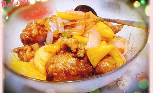 「私房」菠萝咕咾肉(瘦肉版)