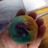 彩虹蛋黄酥的做法图解23