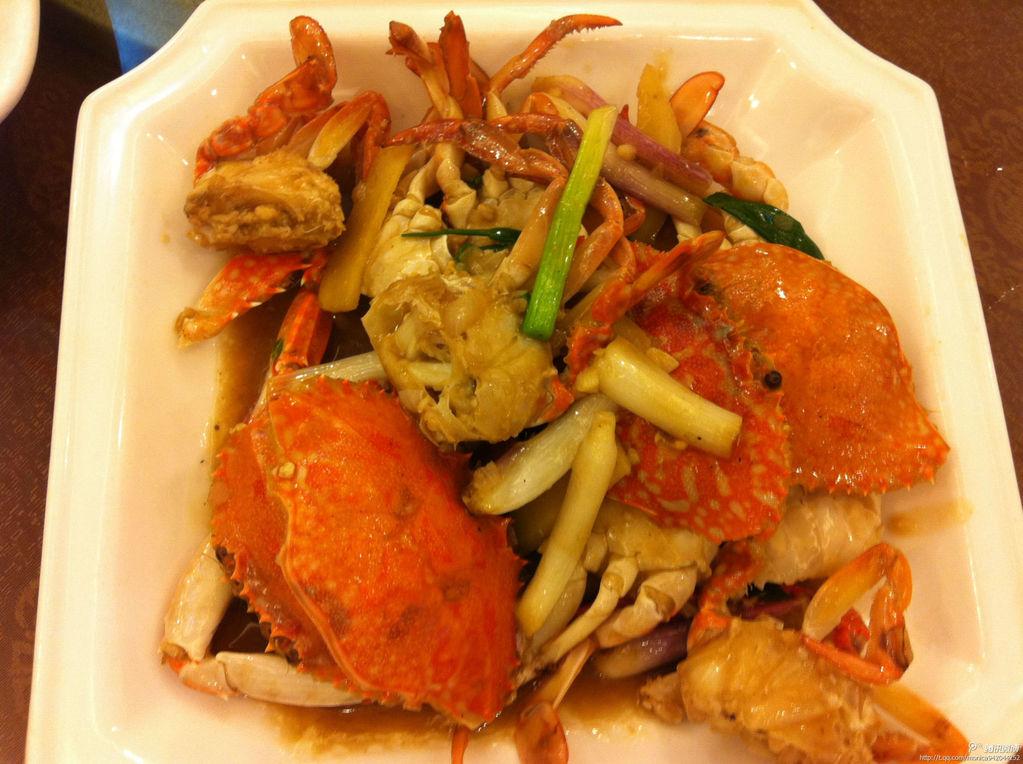 姜葱炒蟹的做法_【图解】姜葱炒蟹怎么做如何做好吃