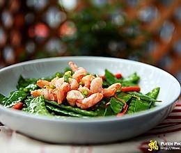 虾仁清炒荷兰豆的做法