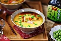 日式海鲜豆腐蒸蛋的做法