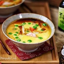 日式海鲜豆腐蒸蛋