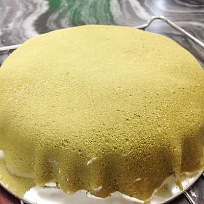 抹茶千层蛋糕的做法 步骤9