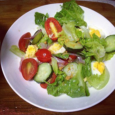 油醋汁蔬菜沙拉(痘肌必备)(无沙拉酱)