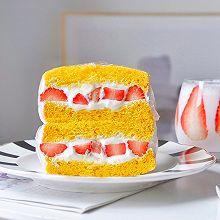 草莓酸奶三明治