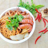 鲜炖阿根廷大红虾~满满一锅鲜#中粮我买 超模滋料大公开#