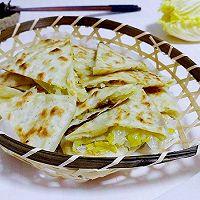 立春葱油白菜饼