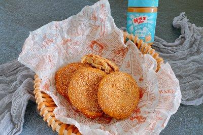 香酥的麻(花生)酱烧饼