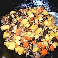 #苏泊尔球釜智能电饭煲#香菇土豆肉丁焖饭的做法图解7