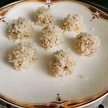 辅食—糯米珍珠肉丸
