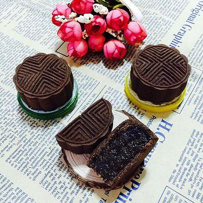 星巴克巧克力月饼