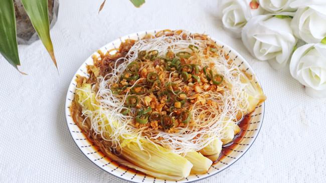 #橄榄中国味 感恩添美味#粉丝蒸娃娃菜的做法