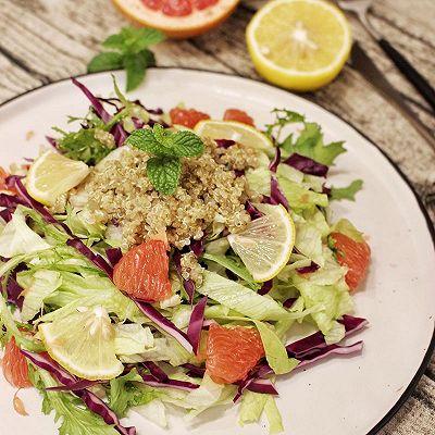 藜麦西柚蔬菜沙拉