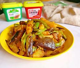 #一勺葱伴侣,成就招牌美味#少油版地三鲜的做法