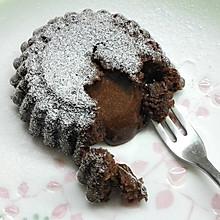 巧克力熔岩蛋糕(全图文超简单)