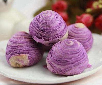 【番茄配方】紫薯酥—— 要的就是这抹迷人的紫色