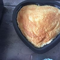 伪乳酪蛋糕(淡奶油蛋糕)的做法图解1