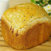 黑芝麻燕麦吐司(面包机版)的做法图解8
