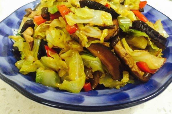 快手营养菜—炒素什锦的做法