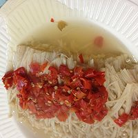 剁椒金针菇 ---豆果菁选酱油试用之三的做法图解6