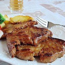 香煎梅花肉排