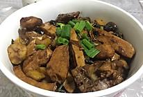 香菇粟子焖鸡的做法