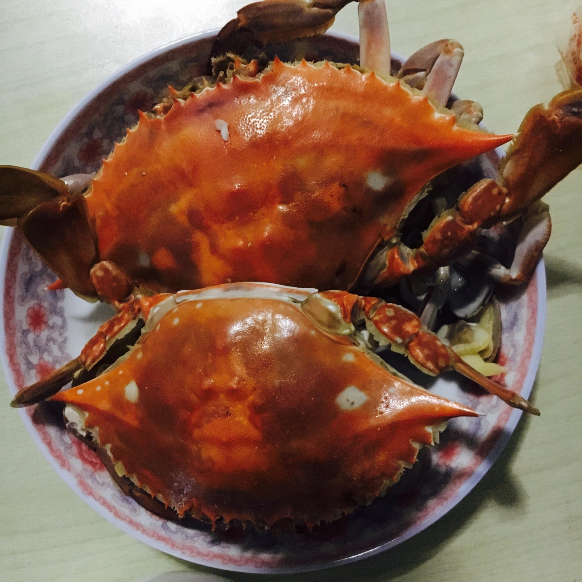 清蒸螃蟹的做法步骤