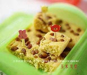 玉米面发糕——乐葵料理盒