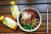 #太太乐鲜鸡汁玩转健康快手菜#好吃到离谱的鸡汁酸辣粉的做法