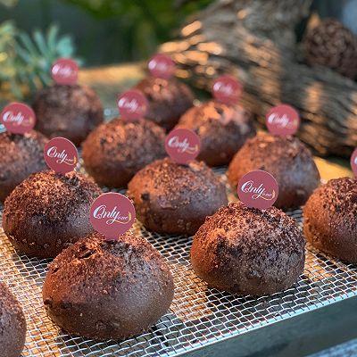 脏小豆—可可巧克力面包(直接法)