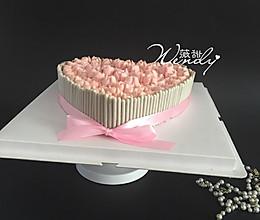 红丝绒心形蛋糕(附快速裱花法)的做法