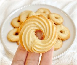 ㊙️奶香十足❗️酥掉渣的奶油曲奇饼干❗️超好吃的做法