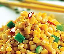 青椒玉米(冠心病食疗)的做法