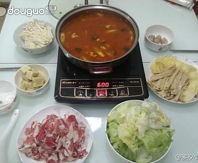 番茄火锅汤底
