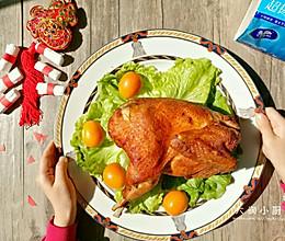盐焗烤鸡#维达与你韧享年夜范#的做法